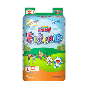 Load image into Gallery viewer, Goo.n Friend Pants Diapers Super Jumbo Pack Large 48s