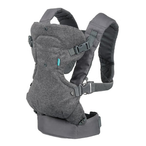 Infantino Flip 4-in-1 Convertible Carrier - Classic Grey