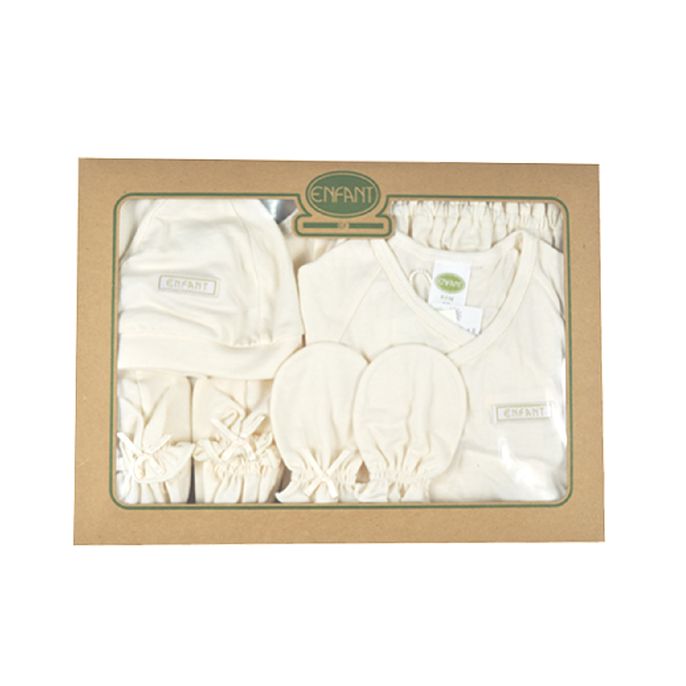 Enfant Organic Gift Box for Newborn, Beige