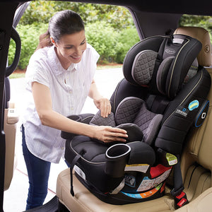 Load image into Gallery viewer, Graco 4Ever 4-in-1 Convertible Car Seat featuring TrueShield Technology