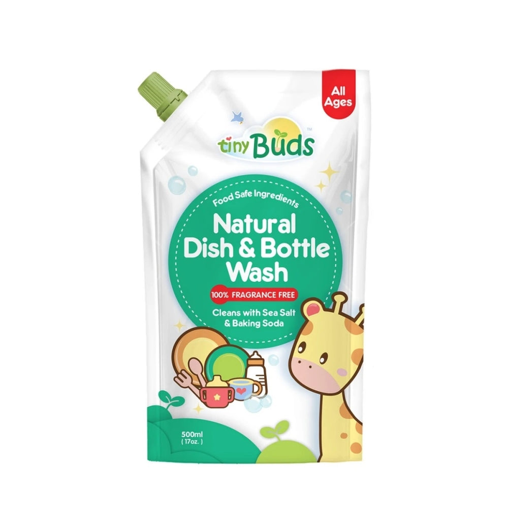 Tiny Buds Natural Bottle Wash with Baking Soda 500ml