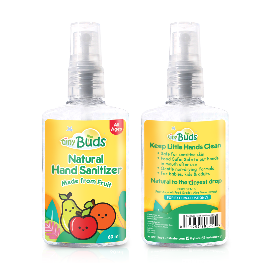 Load image into Gallery viewer, Tiny Buds Natural Hand Sanitizer 60ml