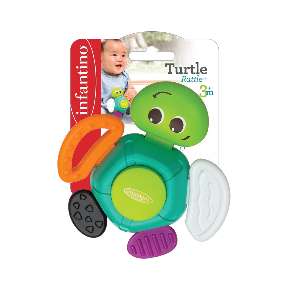 Infantino Turtle Rattle