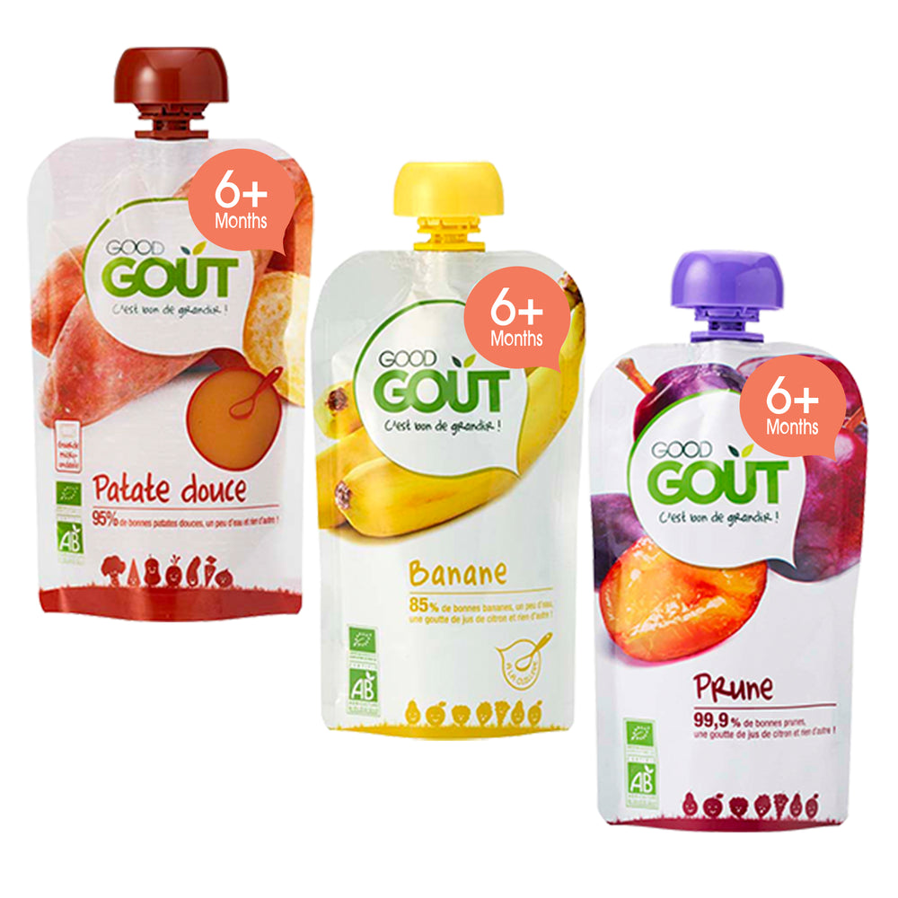 Good Gout Sweet Potato, Plum and Banana 120G (SAVE 70)