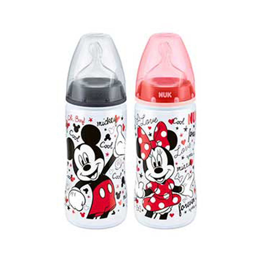 Nuk Disney Baby Bottle with Silicone Teat 300ml