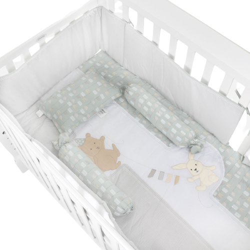 Belily World 6-Piece Crib Set 24x42in. - Play Pals