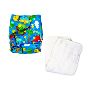 Belle & Coco All-in-One Reusable Diaper, Printed