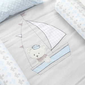 Belily 6-Piece Cribset, Sailing
