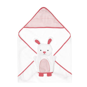 Bloom Hooded Towel with Washmitt