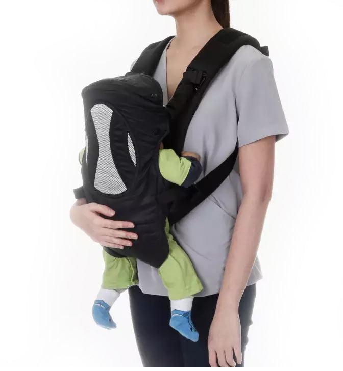 Picolo 4-Way Basic Soft Carrier, Black