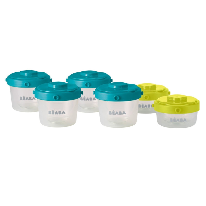 Beaba 1st Age 6-piece Clip Portions Set 60ml+120ml