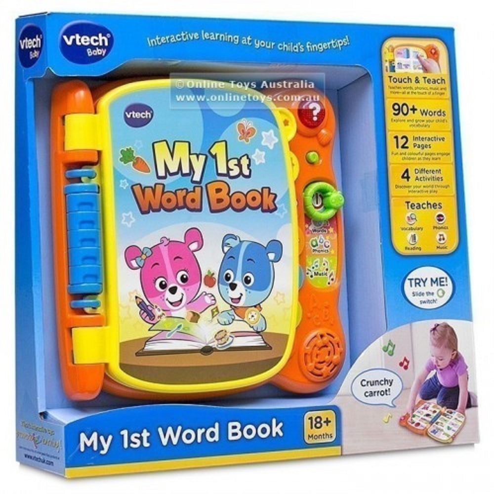 Load image into Gallery viewer, VTech Touch & Teach Word Book