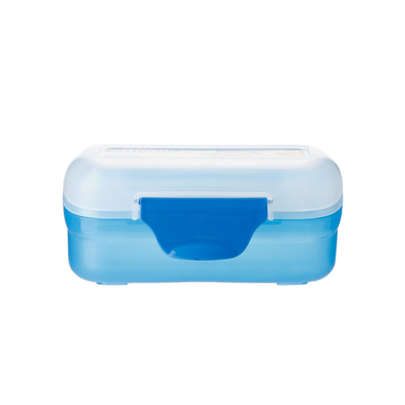 Clip Pac Rectangle Snack Box - Blue