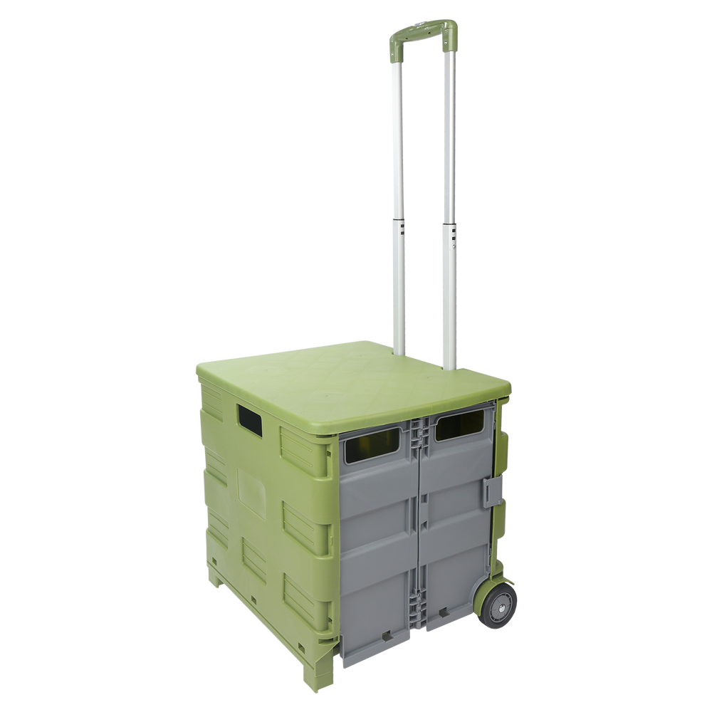 Pack & Go Trolley Cart - Green
