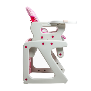 Dwelling 3in1 Convertible High Chair, Pink Circles