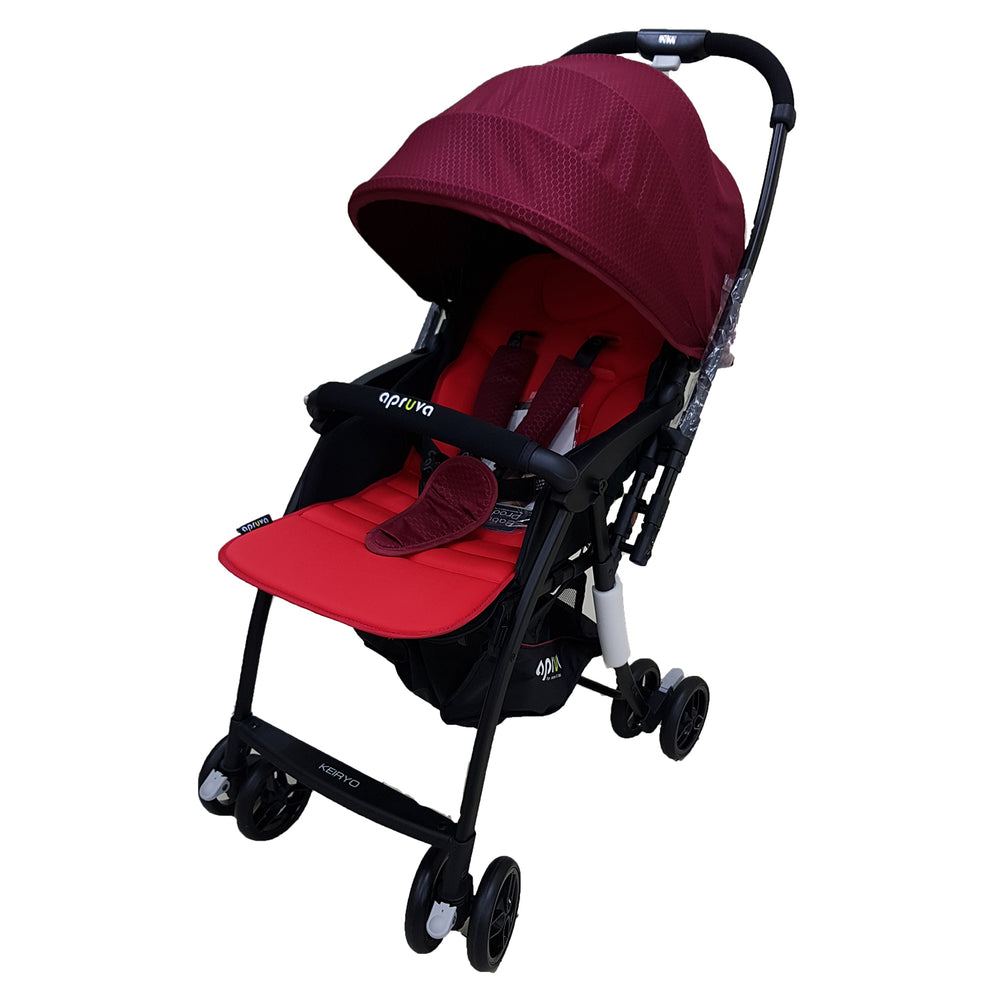 Load image into Gallery viewer, Apruva Keiryo Reversible Stroller, Red