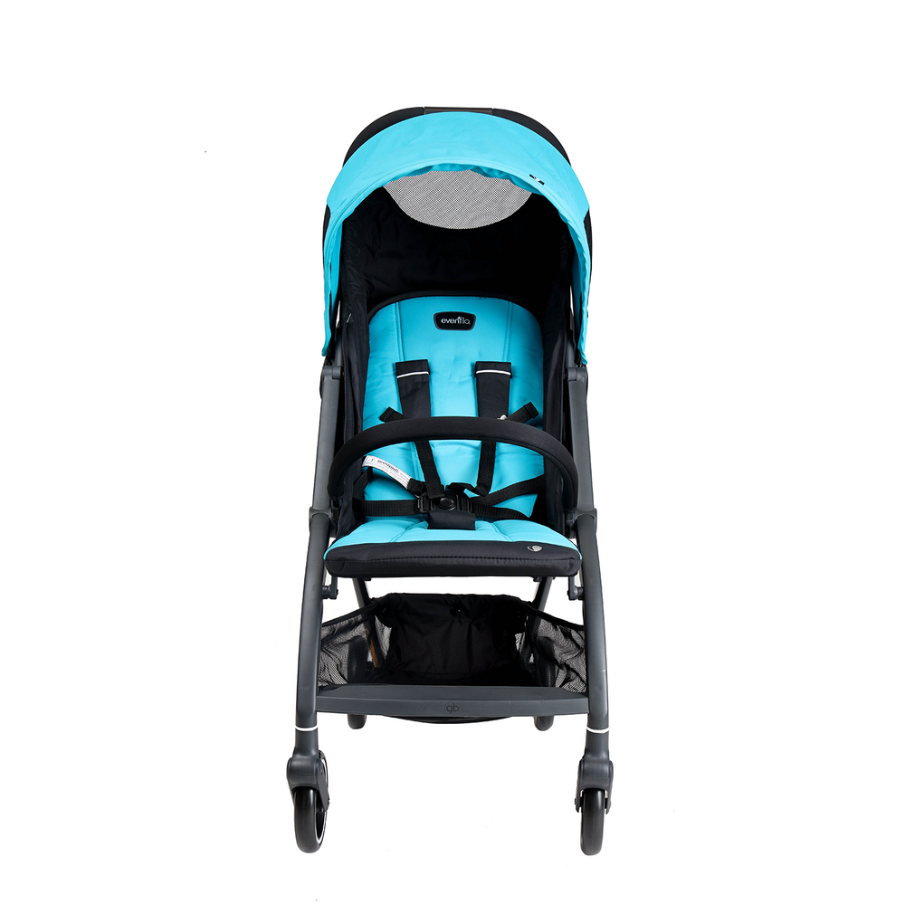 Evenflo Stride Ultra Compact Stroller, Teal