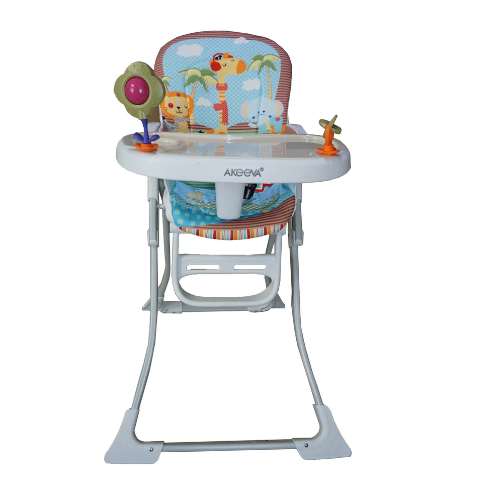 Akeeva Coco Compact High Chair Brown