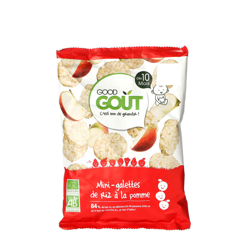 Good Gout Mini Rice Cakes with Apple 40grams