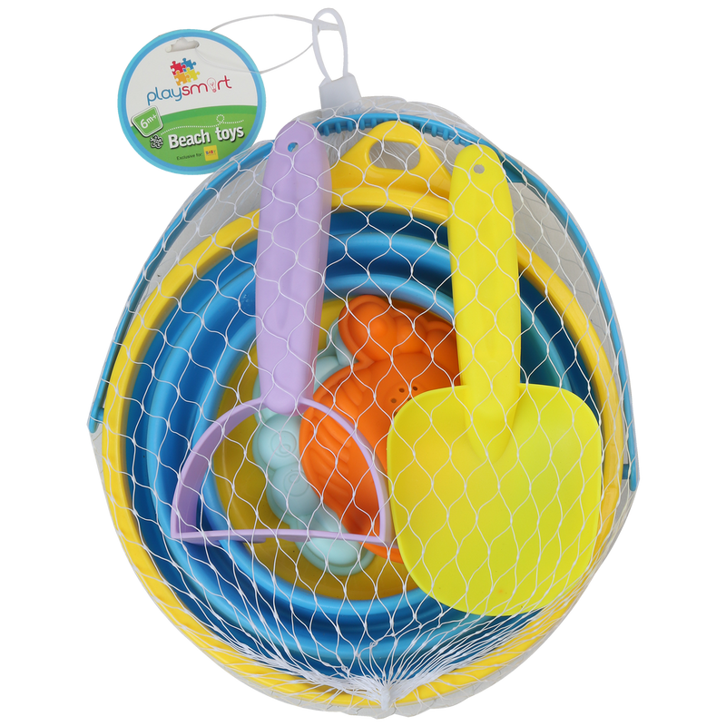 Playsmart 5-pc Beach Toys - Medium
