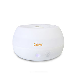 Crane 2in1 White Personal Humidifier with Aroma Diffuser