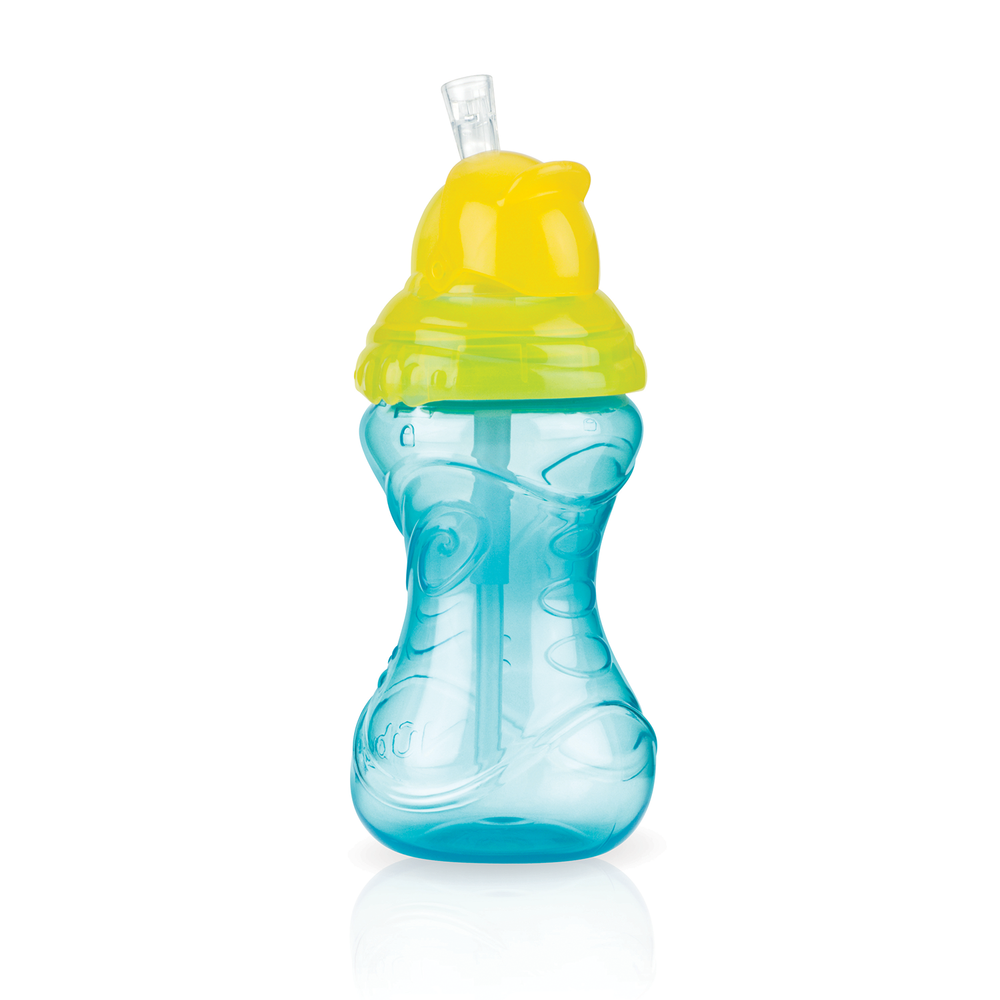Nuby Clik-It Flip-It Straw Cup 360ml