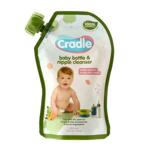 Cradle Natural Bottle & Nipple Cleanser 200ml