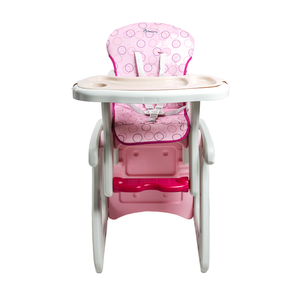 Load image into Gallery viewer, Dwelling 3in1 Convertible High Chair, Pink Circles