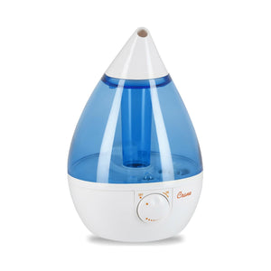 Load image into Gallery viewer, Crane Drop Shape Ultrasonic Cool Mist  Humidifier, Blue White