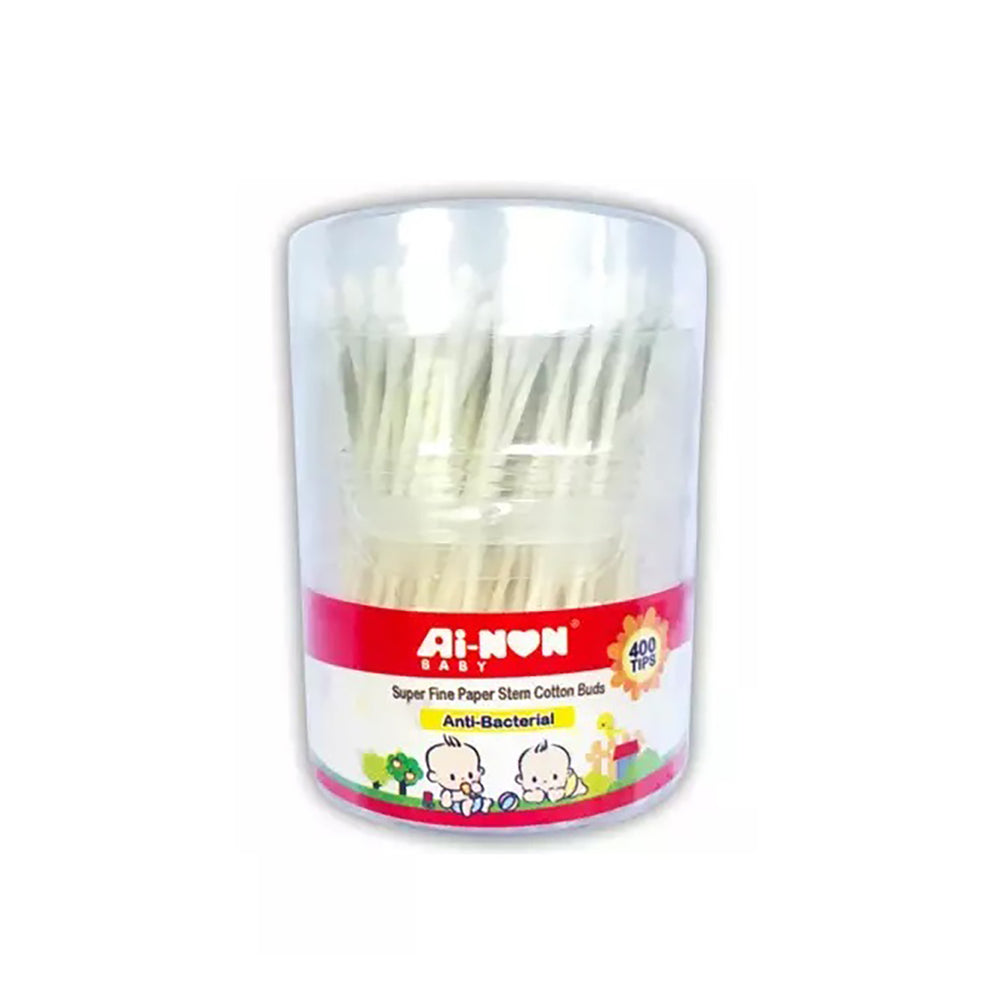 Ainon Baby Regular Cotton Buds Canister 200's