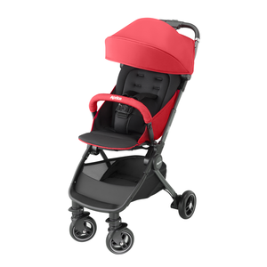 Load image into Gallery viewer, Aprica Nano Smart Plus Stroller - Molten Lava Red
