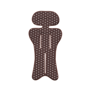 Aprica Sweat Absorbing Reversible Mat - Brown