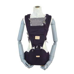 Picolo 6-Way Mesh Panel Hip Seat Baby Carrier, Navy