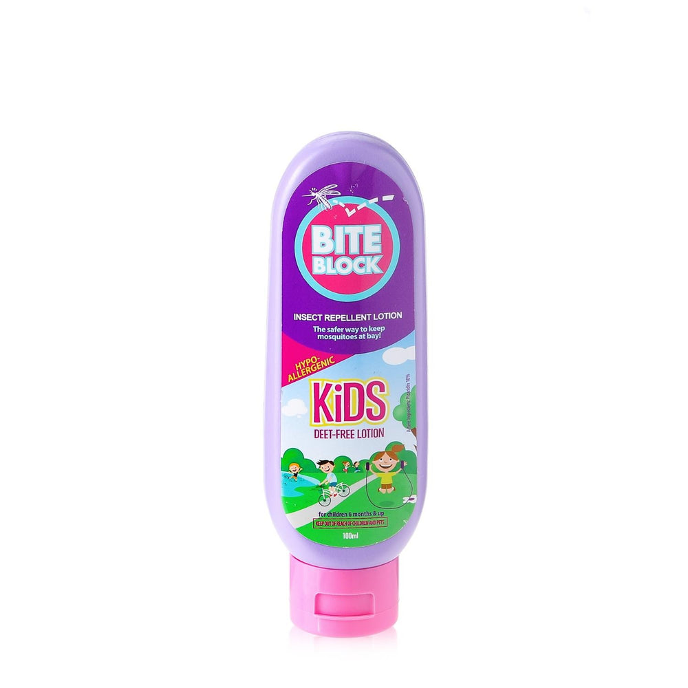 Load image into Gallery viewer, Bite Block Kids Insect Repellent Lotion 100ml
