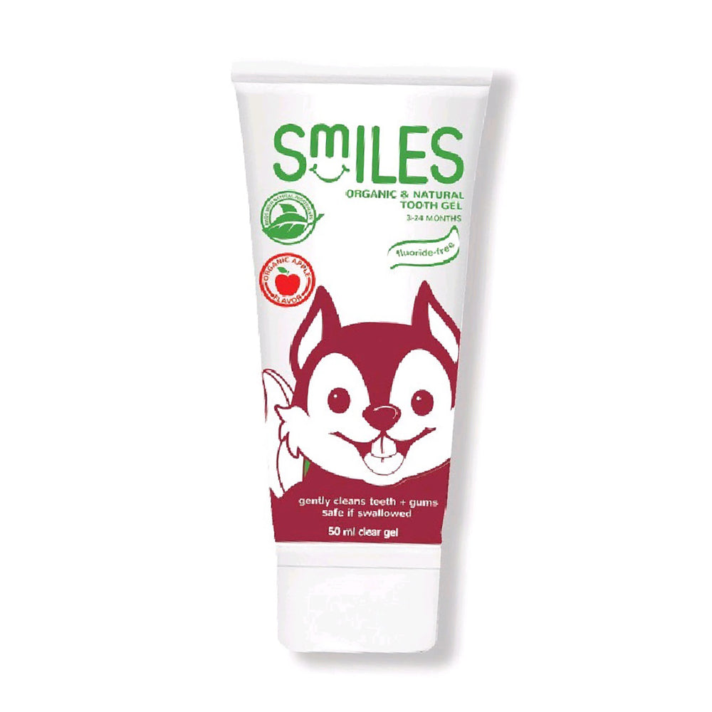 Smiles Organic & Natural Toothgel Apple 50ml