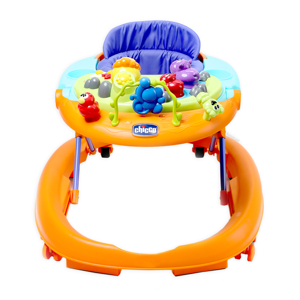 Chicco Walky-Talky Walker, Orange Wave