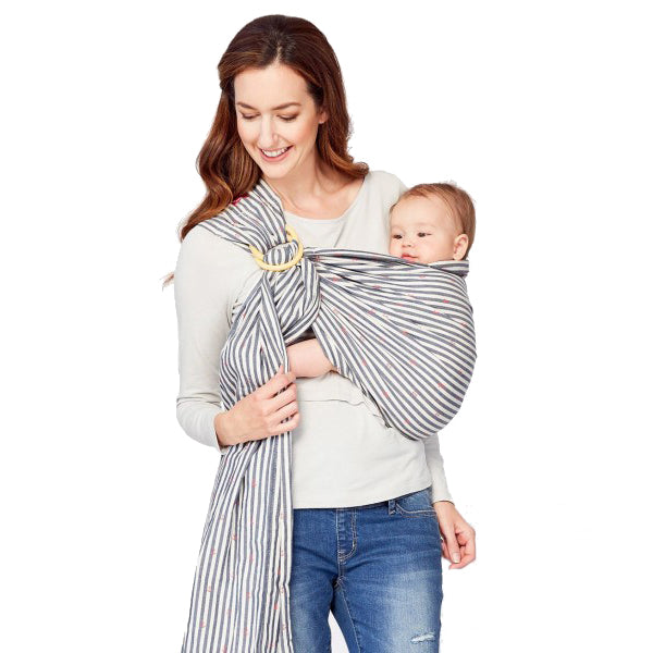 Mamaway Little Sailors Baby Ring sling