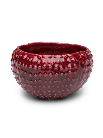 Red Cactus Condiment Bowl