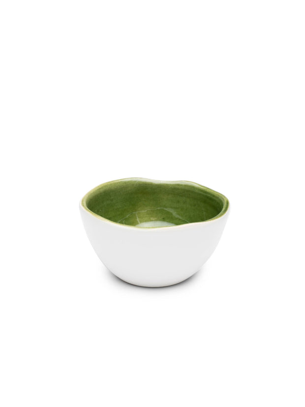 Mini Green Glazed Bowl