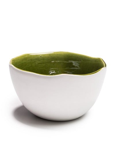 Large Green Glazed Bowl