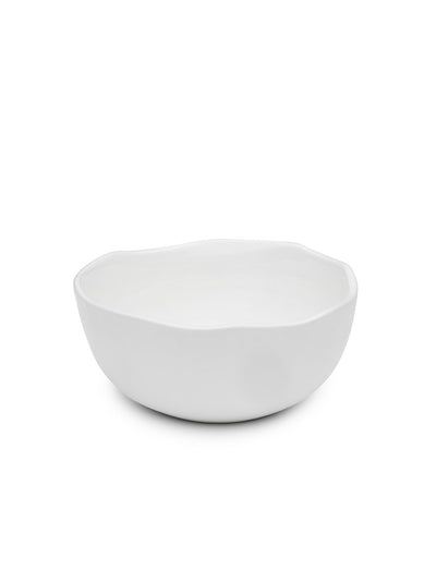 Small White Glazed Bowl