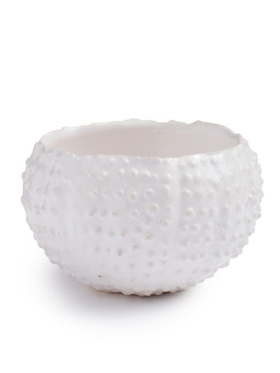 White Cactus Condiment Bowl