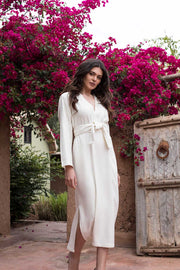Ivory Moroccan Cashmere Dress