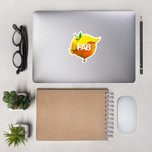 "Load image into Gallery viewer, Adam O'Day // ""Everything is Peachy"" Sticker"