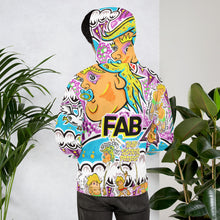 "Load image into Gallery viewer, Andy Jacob // ""Kaleidoscopic Squiddie"" Psychedelic Hoodie"