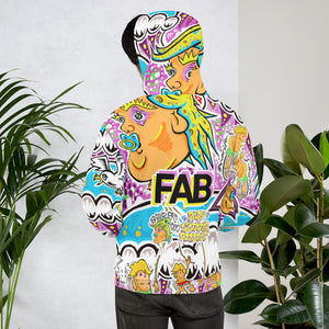 "Andy Jacob // ""Kaleidoscopic Squiddie"" Psychedelic Hoodie"