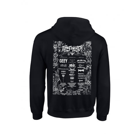 Tons of Rock - ZIP Hoodie 2018
