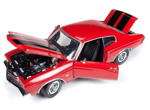 1970 Chevrolet Chevelle SS *Jack Reacher*, red with black stripes.