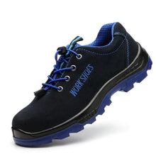 Load image into Gallery viewer, Men's Steel Toe Work Safety Shoes Casual Breathable Outdoor Sneakers Puncture Proof Boots Comfortable Industrial Shoes for Men