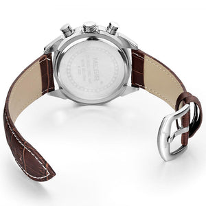 MEGIR Quartz Genuine Leather watches